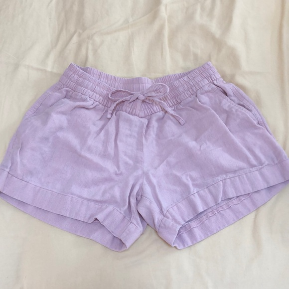 Old Navy Pants - pink old navy linen shorts